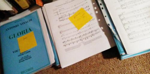 music allocated